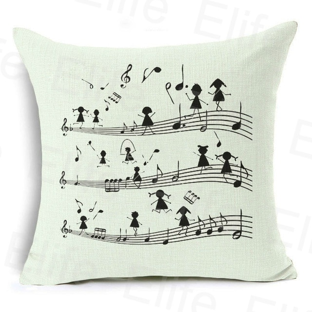 Pillow cover with kids