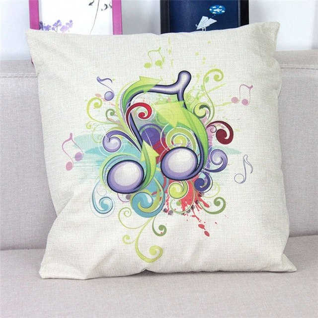 Pillow Cover Funky 2 Quavers